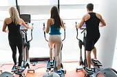 Trainer Fitness Machine